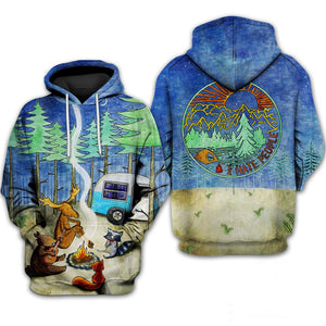 Forest Friends Hoodie & T-Shirt Guts Fishing Apparel