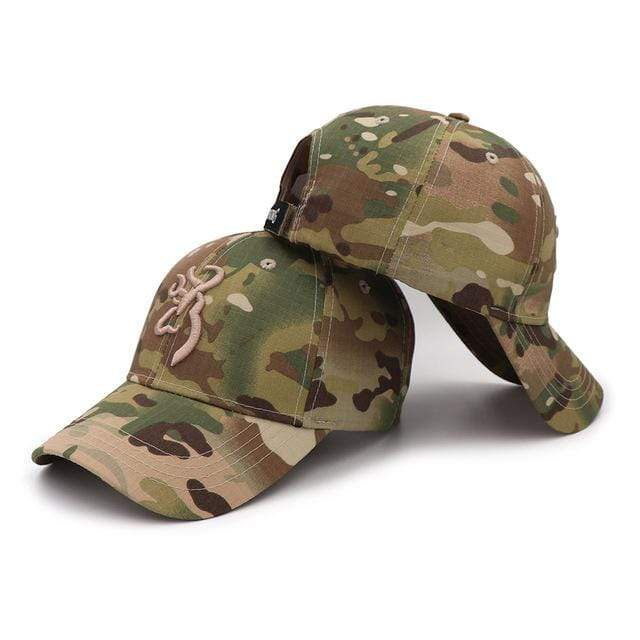 Guts Fishing Apparel  Hat Camo KP Caps CAMOBLN-KP3