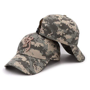Guts Fishing Apparel  Hat Camo KP Caps CAMOBLN-KP4