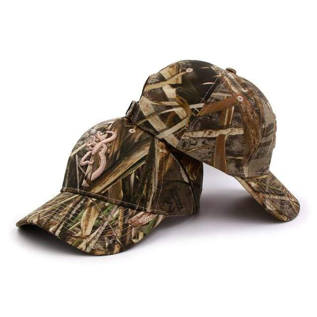Guts Fishing Apparel  Hat Camo RT Caps CAMOBLN-RT2