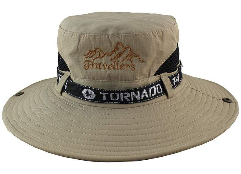 Tornado F14 bucket hat in Khaki.