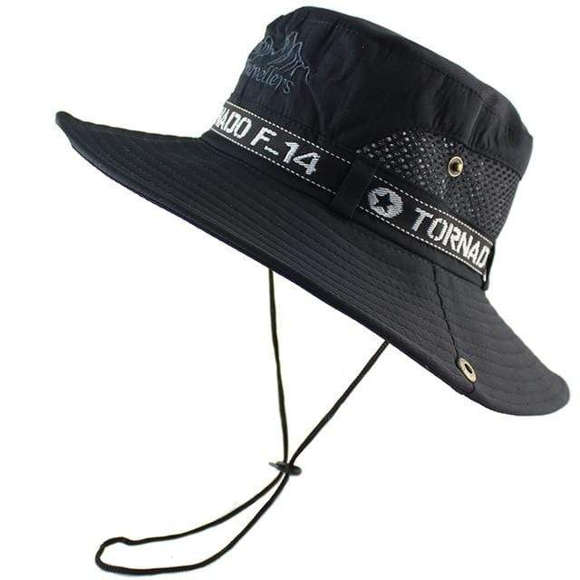 Tornado F14 bucket hat in black.