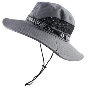 Tornado F14 bucket hat in grey.