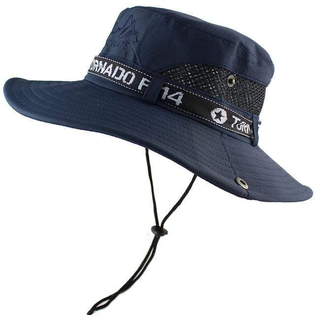 Tornado F14 bucket hat in navy.