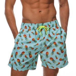 Guts Fishing Apparel  Shorts Aifer Beach Shorts Pineapples / M/30""