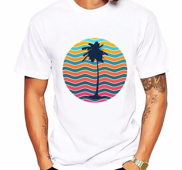 Guts Fishing Apparel  T-shirt 7 / 4XL Palm Tree