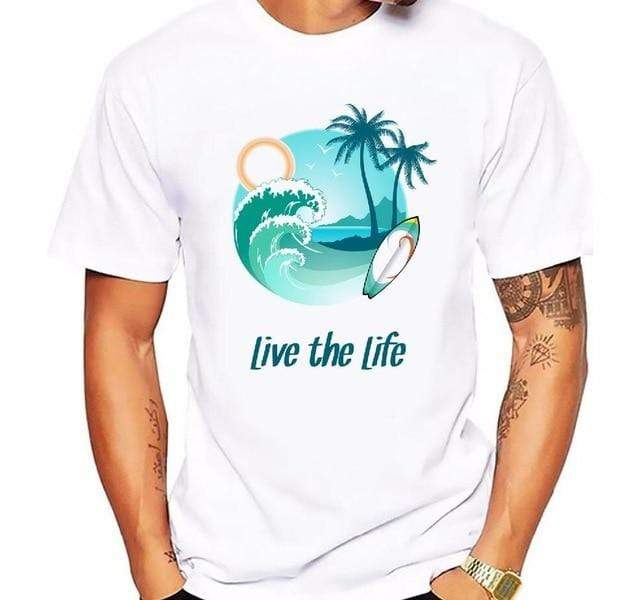 Guts Fishing Apparel  T-shirt 8 / XXXL Palm Tree