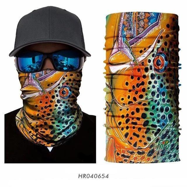 3D Neck Gaiters HR040654 Guts Fishing Apparel