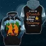 Party Bear Hoodie & T-Shirt Hoodie / 5XL Guts Fishing Apparel
