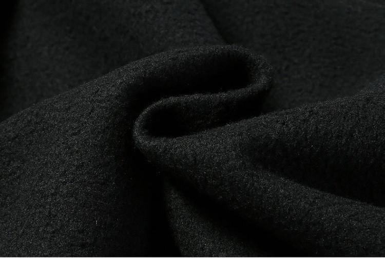 Softshell fleece inside of mens waterproof fishing pants.