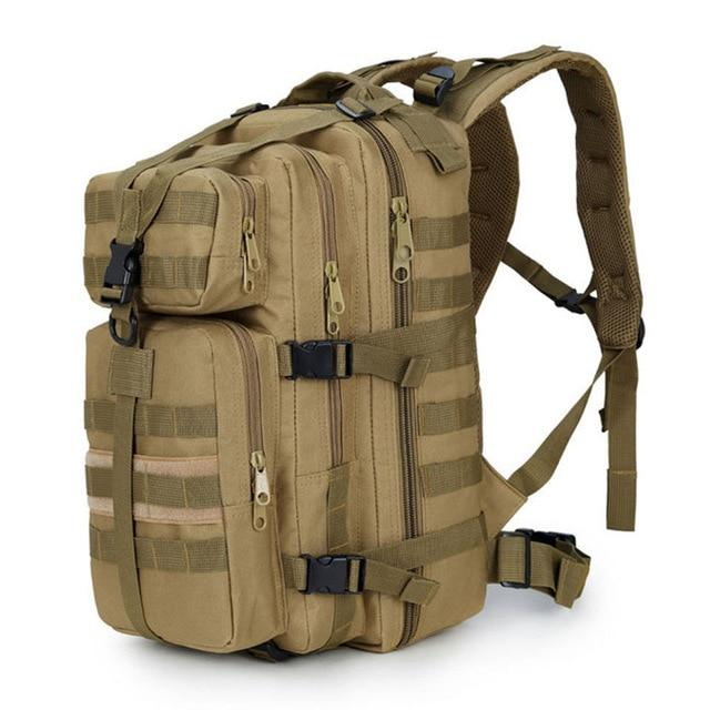 Army style tactical fishing backpack