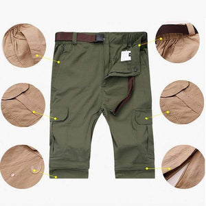 Men's lightweight fishing pants with cargo pocket.