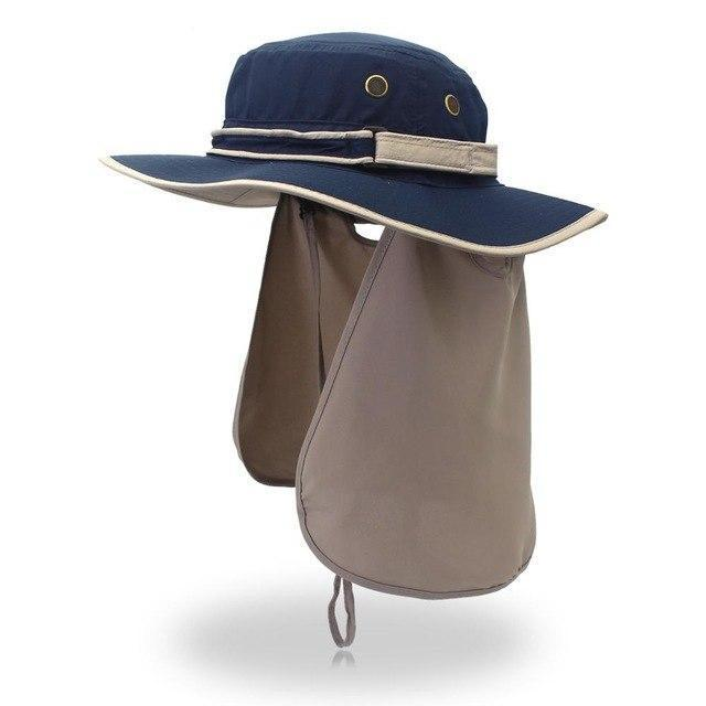 Guts Fishing Apparel - The Fisher Hat - unisex sun protection hat, colour navy