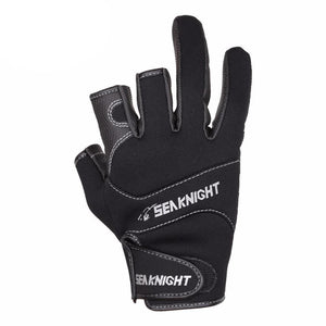 Sport fishing gloves for men.