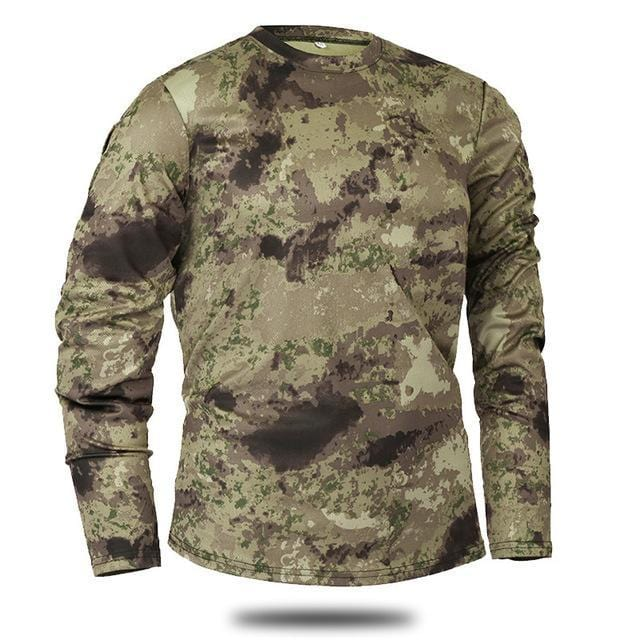 Guts fishing Apparel - The Quick Dry Camo LS - Fishing and Camping Shirt