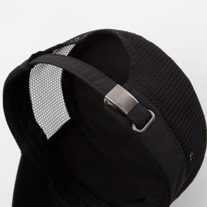 Keep a cool head with a selection of trendy mesh ventilation caps in a variety of colours by Mege Knight.