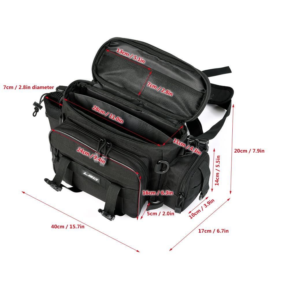 Small multi pocket tackle bag for your waist.