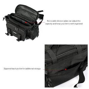 Outdoor Sports Fishing Bag Large Capacity Multifunctional Bag Waist Pack Reel