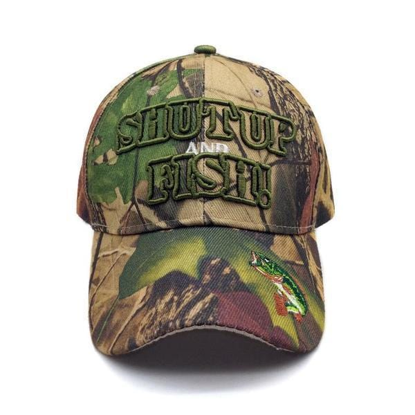Shut Up and Fish Cap