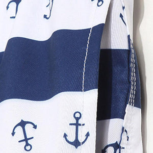 The anchor print Boatmen beach shorts
