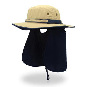 Guts Fishing Apparel - The Fisher Hat - unisex sun protection hat, colour Khaki.
