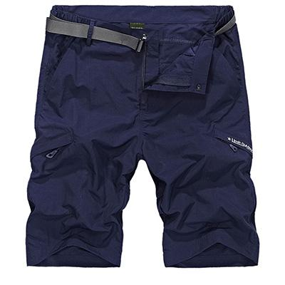 Quick dry outdoor shorts with cargo pockets.