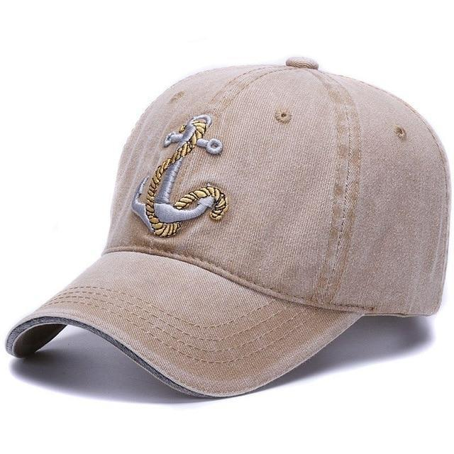 A great cap for the boatmen. The Washed Anchor baseball style hat on sale now at Guts Fishing Apparel.