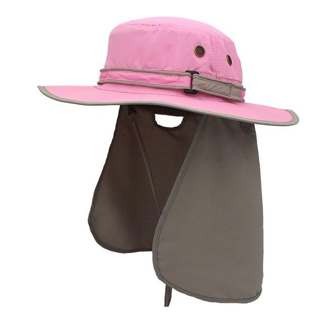 Guts Fishing Apparel - The Fisher Hat - unisex sun protection hat, colour pink