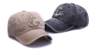Anchor hat at Guts Fishing Apparel. Stylish sun protection hats and caps for boating and fishing.