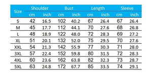 Green Crankbait Lure Fishing Shirt Size Chart.