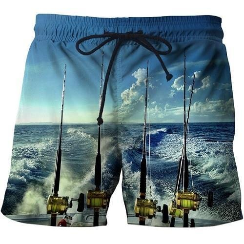 Guts Fishing Apparel - 3D Print Fishing Shorts