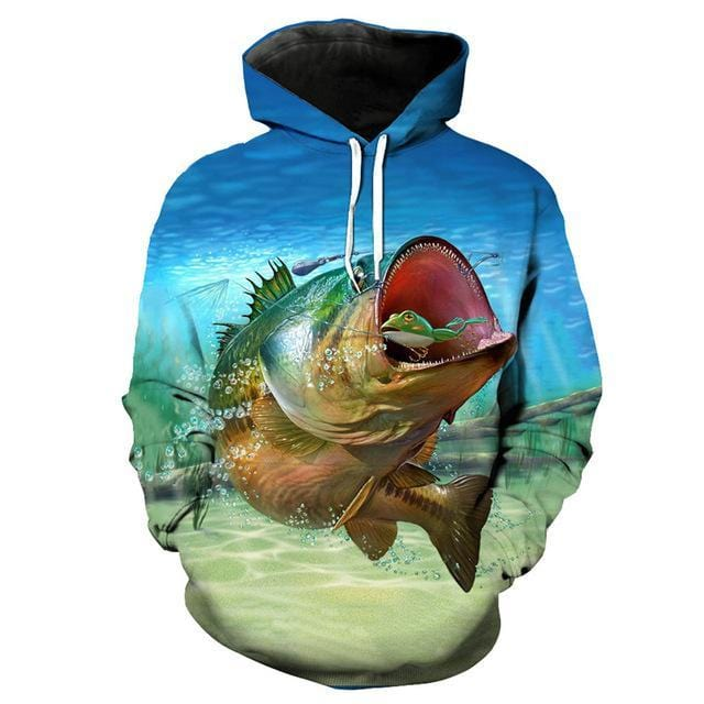 Guts Fishing Apparel Frog Hopper Fishing Hoodie