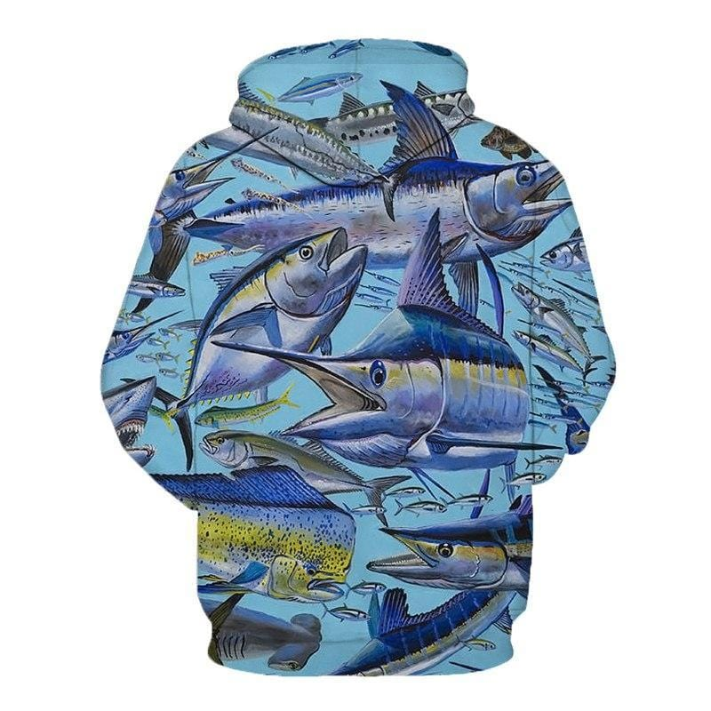 Big Range of 3D Graphic Fishing Hoodies
