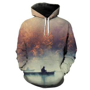 Guts Fishing Apparel's Maple Lake Fishing Sweatshirt