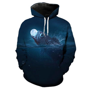 Guts Fishing Apparel - 3D Graphic Print Fishing Hoodies