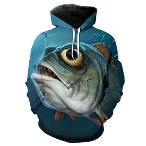 Guts Fishing Apparel - 3D Fishing Sweatshirts