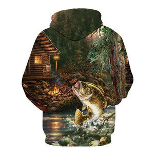 Men's Fishing Sweatshirts & Pullovers