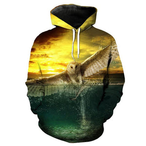 Eagle Eye Fishing Hoodie