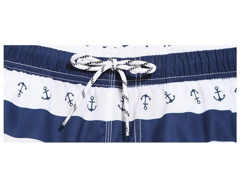 Stylish mens casual beach shorts.