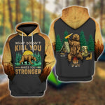 What Doesn't Kill You Hoodie & T-Shirt Hoodie / XXXL Guts Fishing Apparel