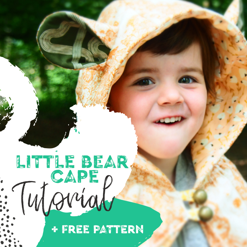 Little Bear Capelet Tutorial