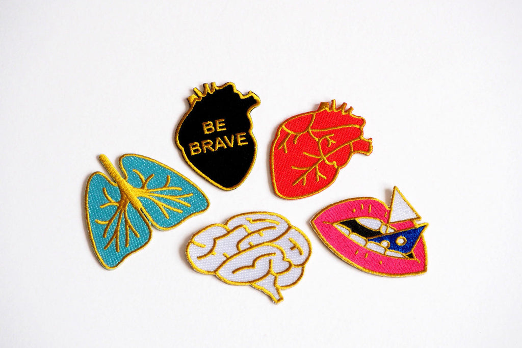 Rock Cakes patches