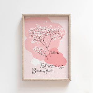 Blooming Beautiful printable wall art