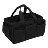 Everything Mary Black Quilted Caddy Storage Craft Bag Organizer