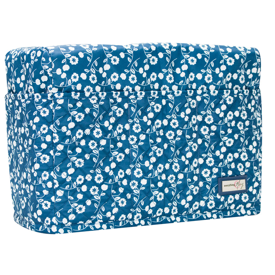 Sewing Machine Dust Cover, Blue