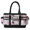Deluxe Store & Tote Craft Organizer, White & Floral