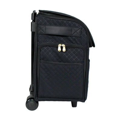 Deluxe Rolling Sewing Case, 2019 Black & Gold