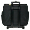 Deluxe Rolling Sewing Case, Black & Gold