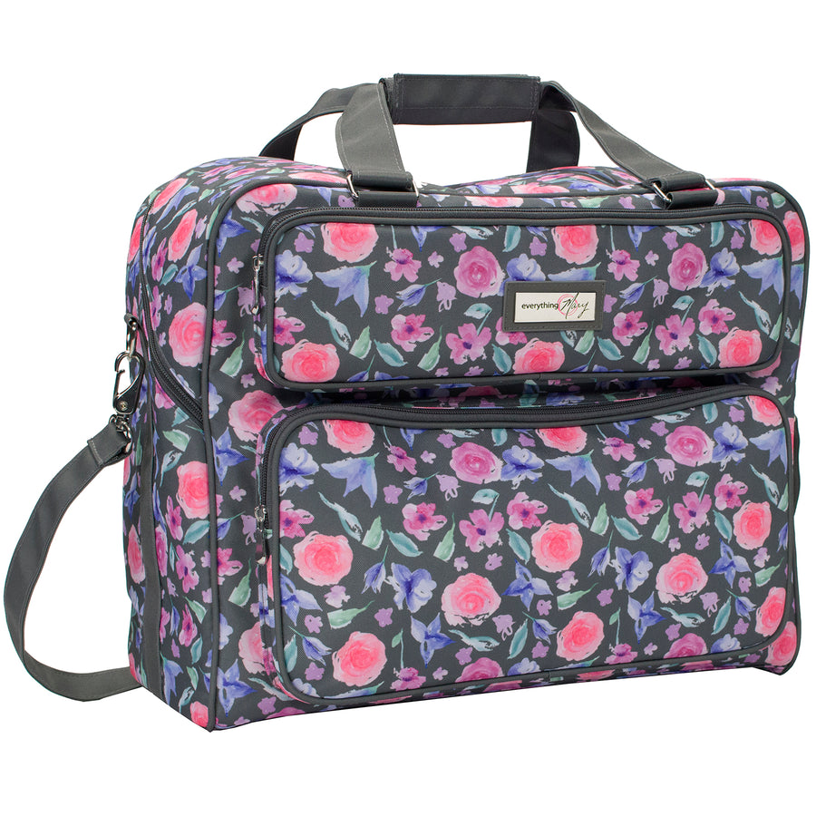 Deluxe Sewing Machine Carrying Tote, 2019 Floral