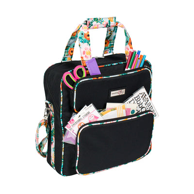 Scrapbook Carrying Case, 2019 Black & Floral